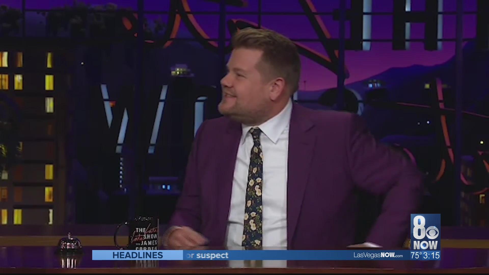 James Corden discusses his recent stint in Vegas