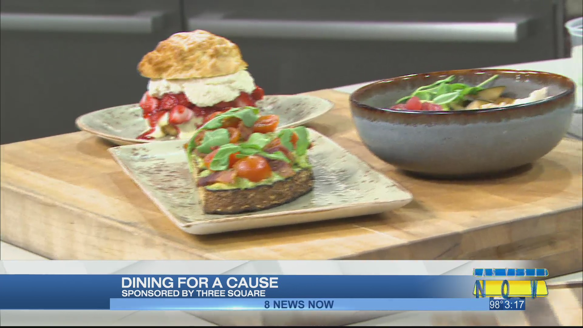 Dining for a cause to benefit Three Square