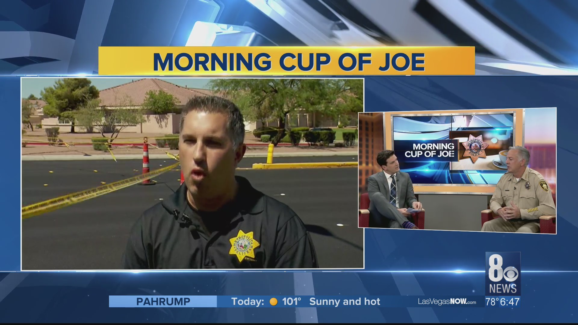 Sheriff Lombardo discusses the latest happenings