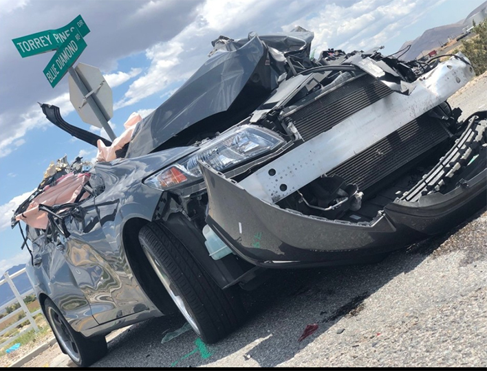Woman dies following southwest valley crash with semi-truck