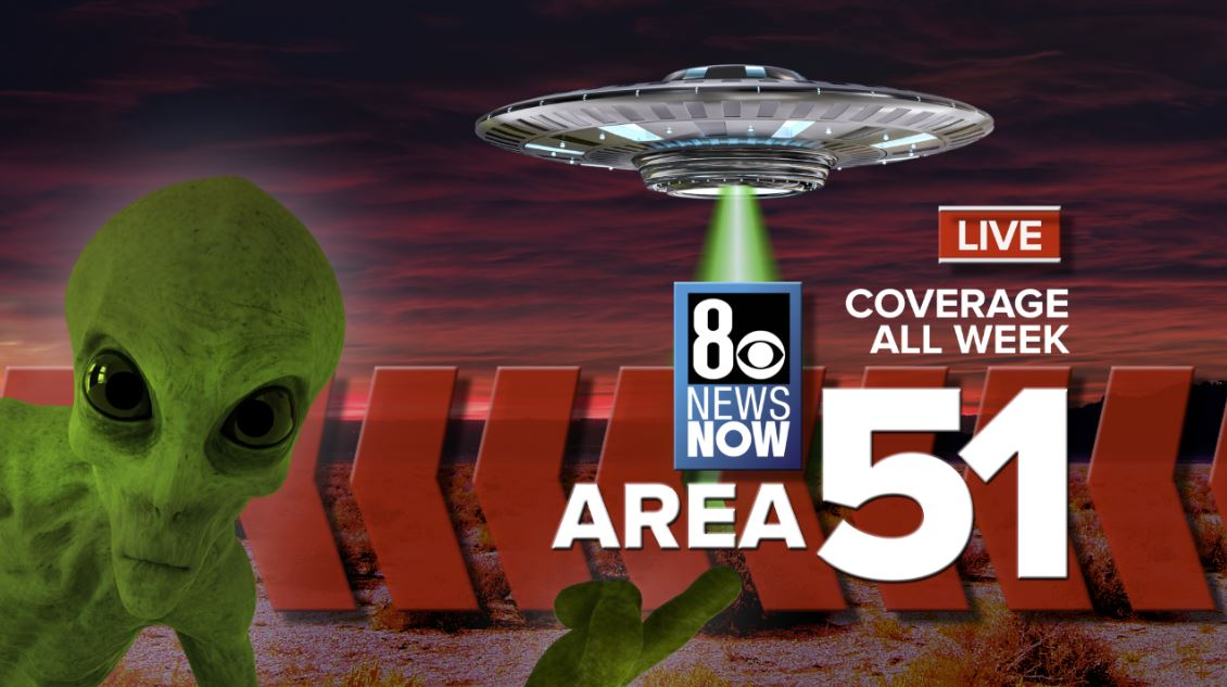 Storm Area 51 Live Coverage Graphic