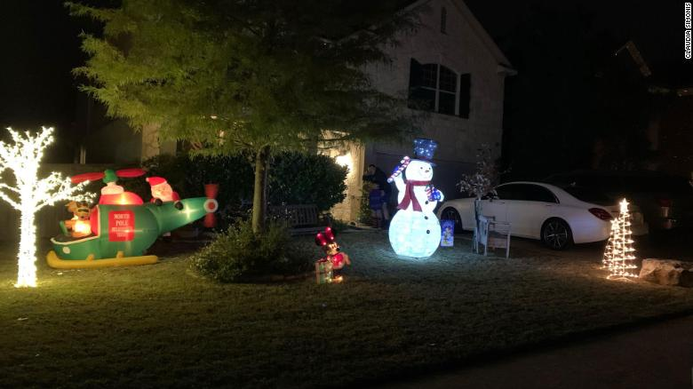 HOA STRIKES AGAIN: Family told to take down Christmas display because it's too soon to decorate