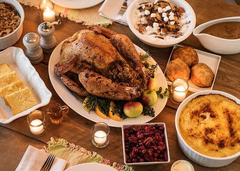 Study breaks down most popular Thanksgiving recipe by state