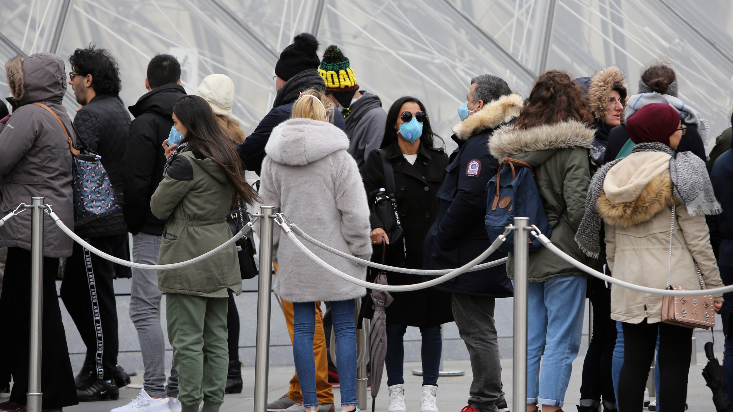 Virus spreads to over 60 countries; France closes the Louvre ...