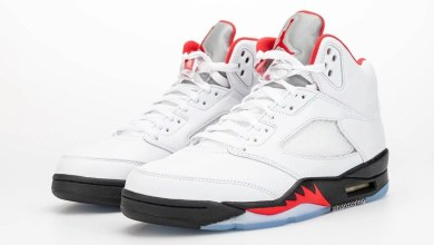 Photo of Air Jordan 5 'Fire Red' Official Release Date