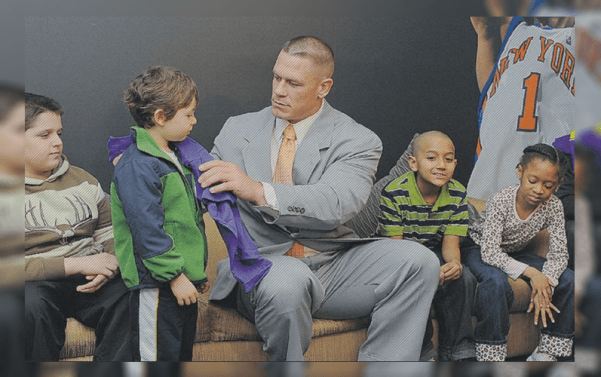 John Cena With The Blind Kid