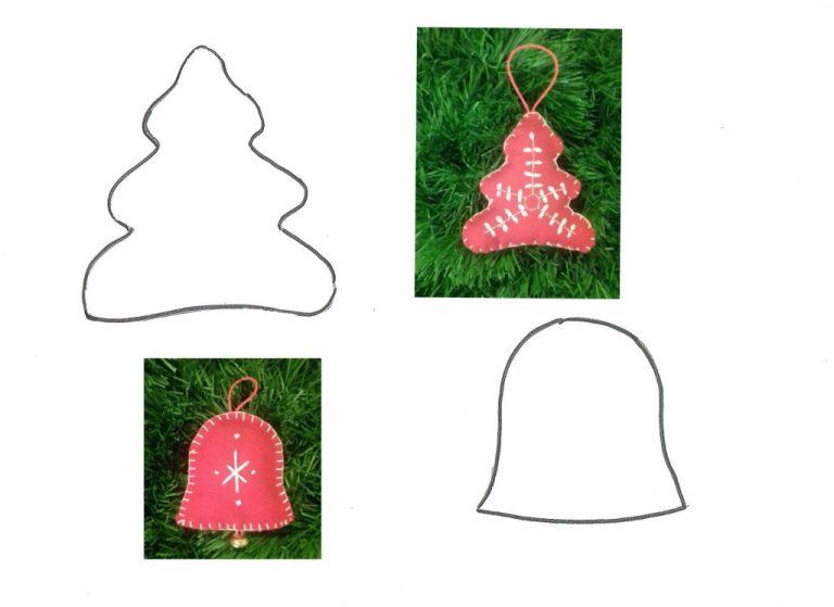 Estrellas adornos de navidad ii plantillas de figuras - Plantillas adornos navidenos ...