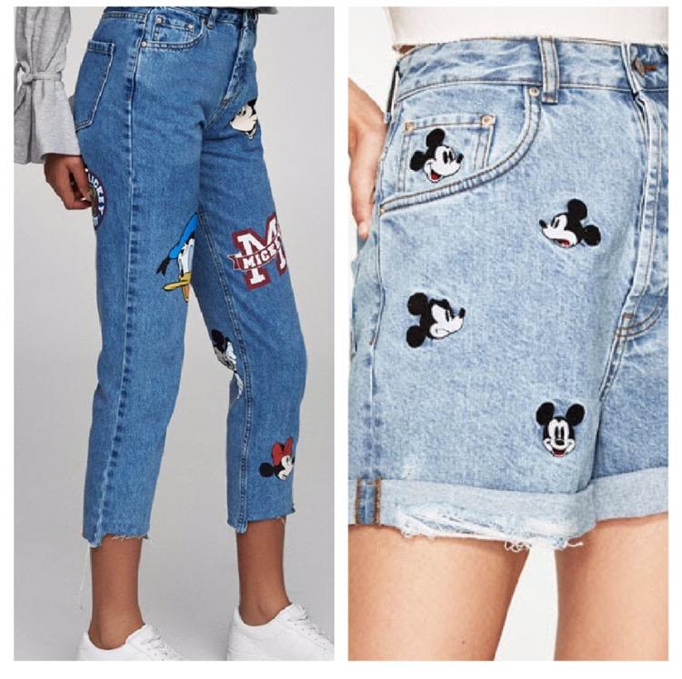 Mickey Mouse Ropa Y Complementos En Zara Mango Pullandbear Bershka Hm