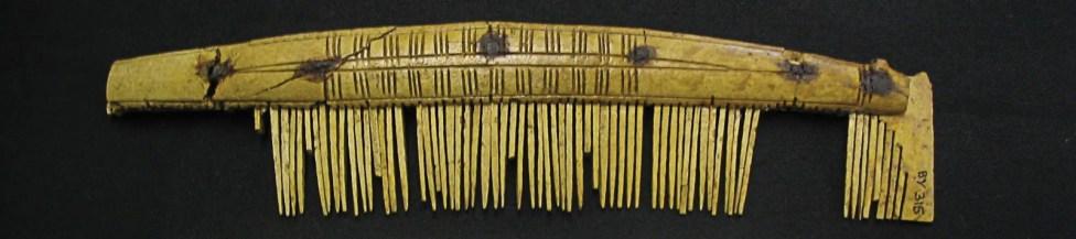 Comb made of reindeer antler