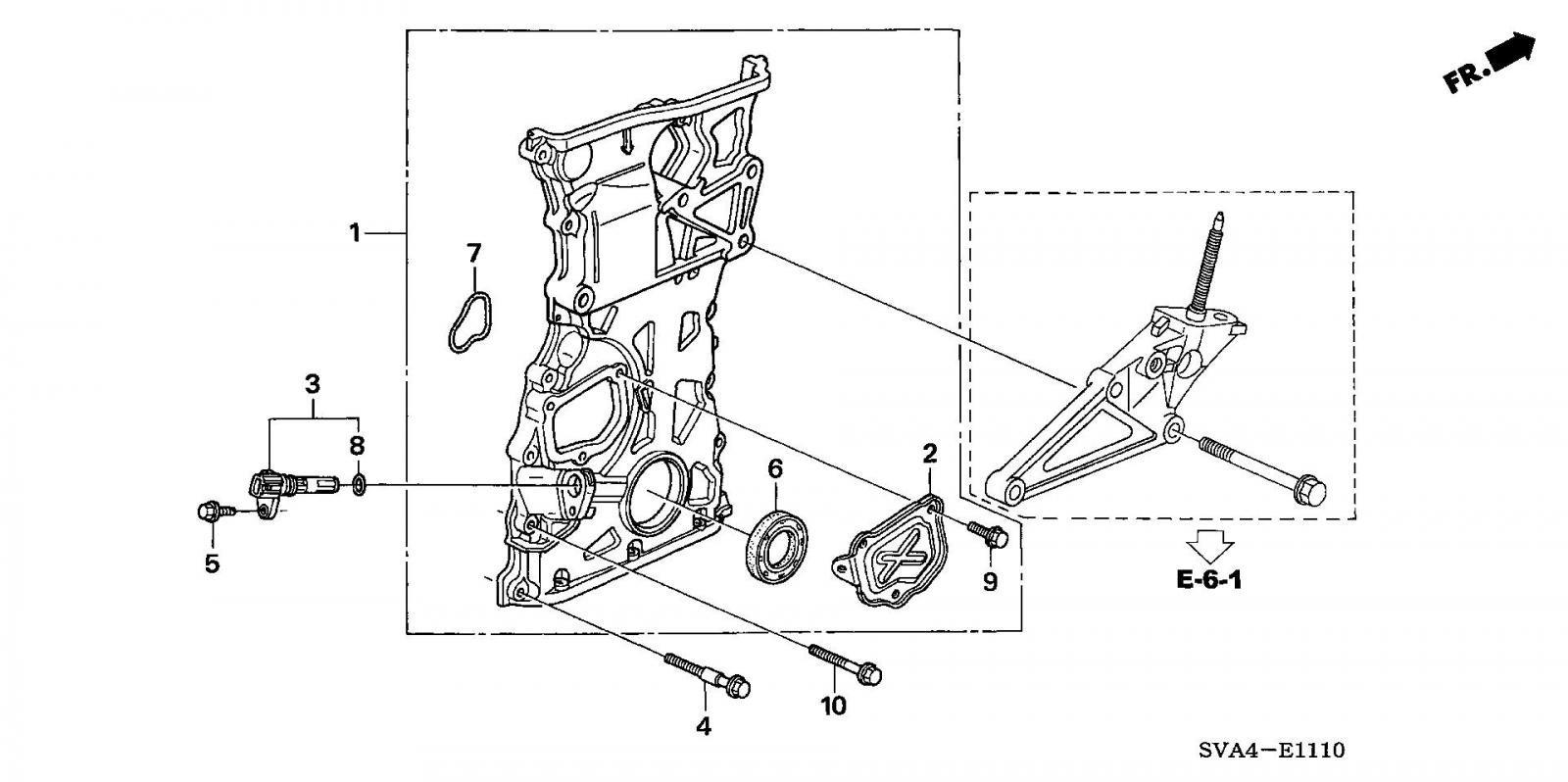 2008 Honda Civic Timing Chain