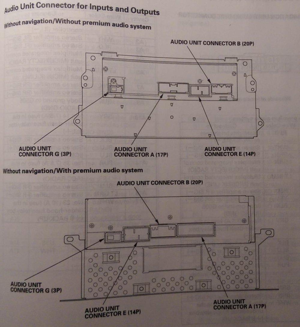 medium resolution of 2006 honda civic si radio wiring diagram on 2009 honda pilot trailer