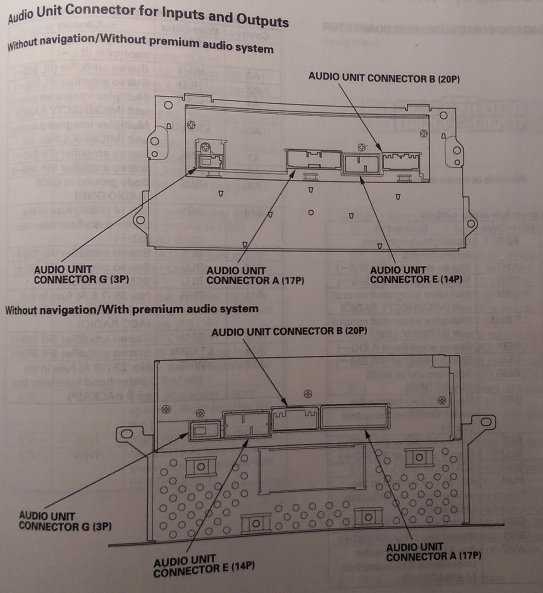 hight resolution of 2006 honda civic si radio wiring diagram on 2009 honda pilot trailer