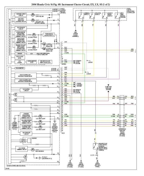 small resolution of honda civic wiring diagram 2008 wiring diagrams rh 8 shareplm de 2000 honda insight radio wiring 2018 honda insight interior