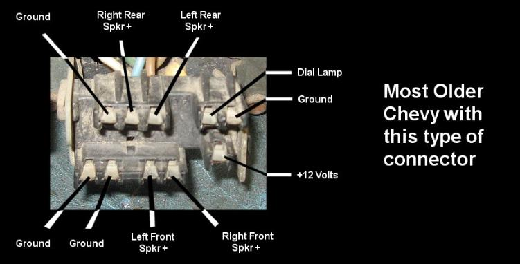 model a 12 volt wiring diagram 2001 ford f150 fuse panel the 8 track repair center unit hookup and information delco
