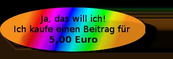 Ja, das will ich! Ich kaufe einen Artikel für 5 Euro