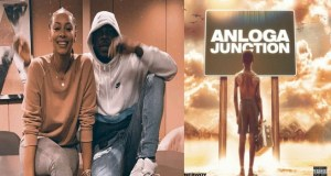 Stonebwoy's Anloga Junction Sets Huge Record On Audiomack (Screenshot).
