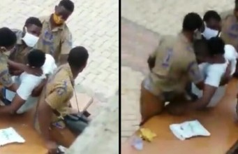 Video of how the KNUST SHS student was left to die by teachers leaks