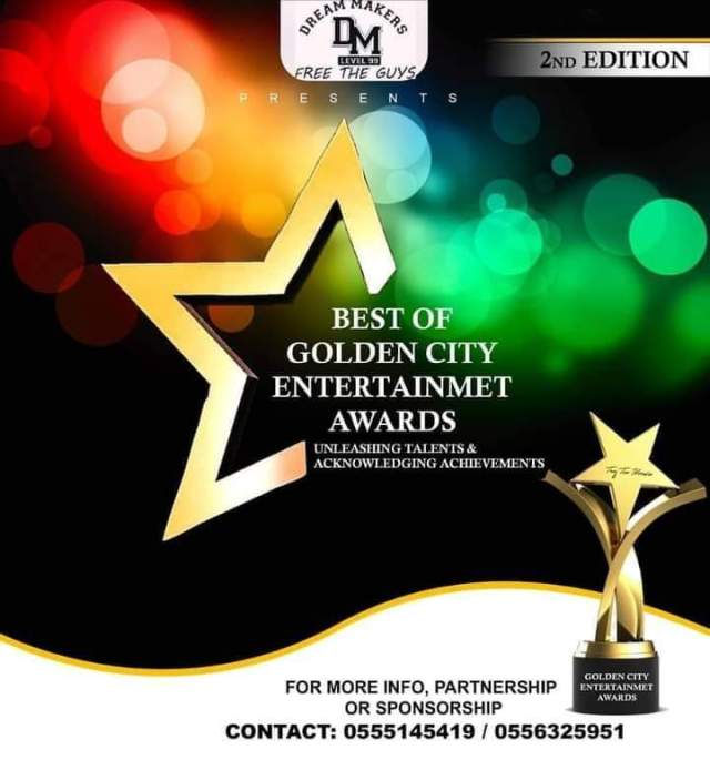 Lauched : Golden City Entertainment Awards