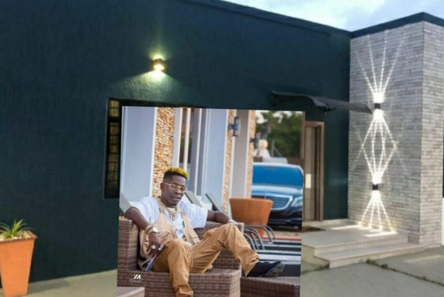 Shatta Wale finally unveils his estate; Starts selling a couple of the properties (Photos).