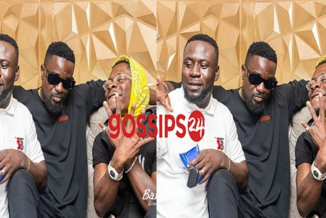 Sarkodie & Shata Wale spotted having fun following Stonebwoy-Davido link up (Video)