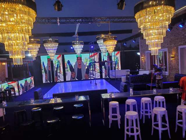 All Set For Shatta Wale's 36th Birthday Party – See First Photo