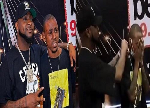 Davido Gift His Die-Hard Fan His 30BG Chain Worth N6million, See His Reaction (Video)