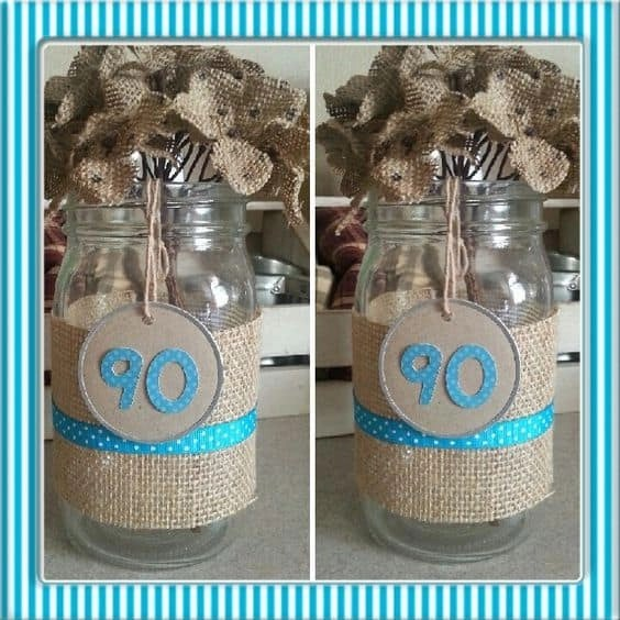 s th birthday centerpieces