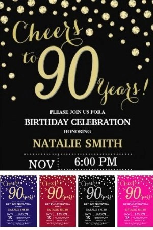 90th Birthday Party Ideas 100 Ideas For A Memorable