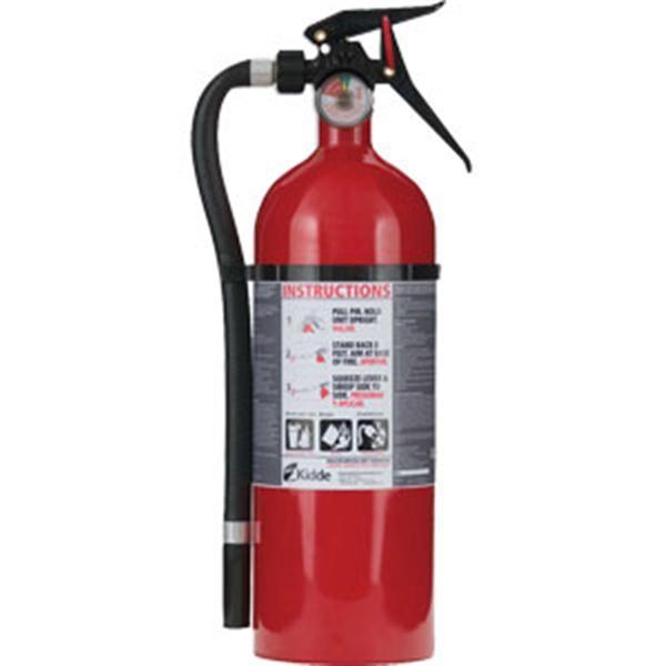 kidde kitchen fire extinguisher best faucet brand 5 lb abc single use mp w wall hook 911fireextinguishers com extinguishers