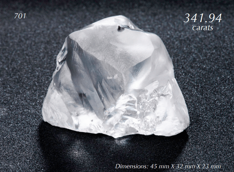 How Much are Raw Not so Bloody Diamonds Worth