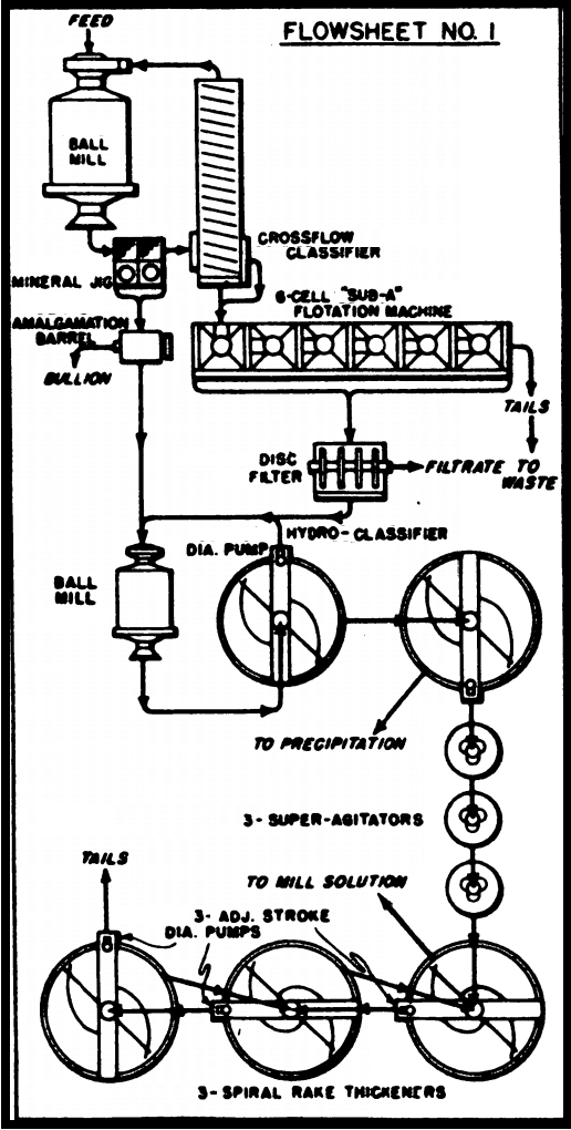 Gold Cyanidation Circuits
