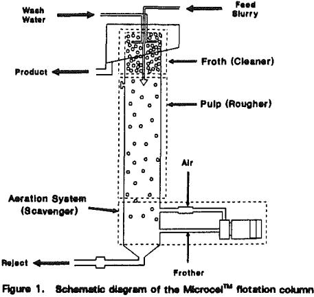 Microbubble Flotation Column