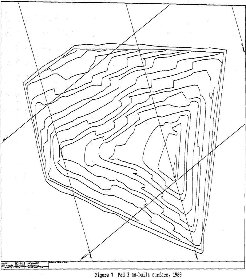 Heap-Leaching Pad Volume Calculations