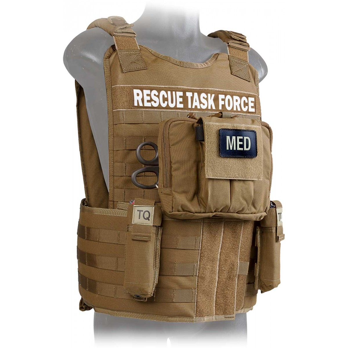 Rescue Task Force Vest Kit With Side Armor