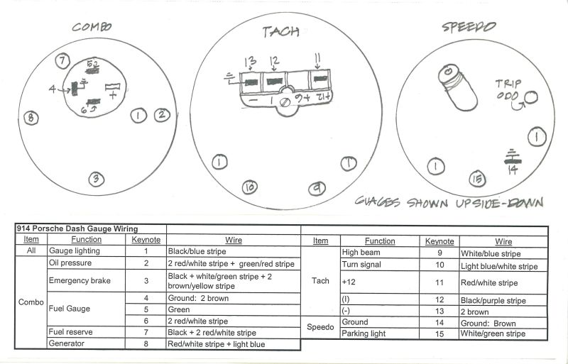 Wiring Diagram For Vdo Oil Pressure Gauge