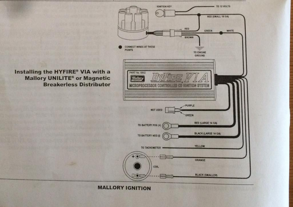 Mallory High Fire4a Wiring Diagram on