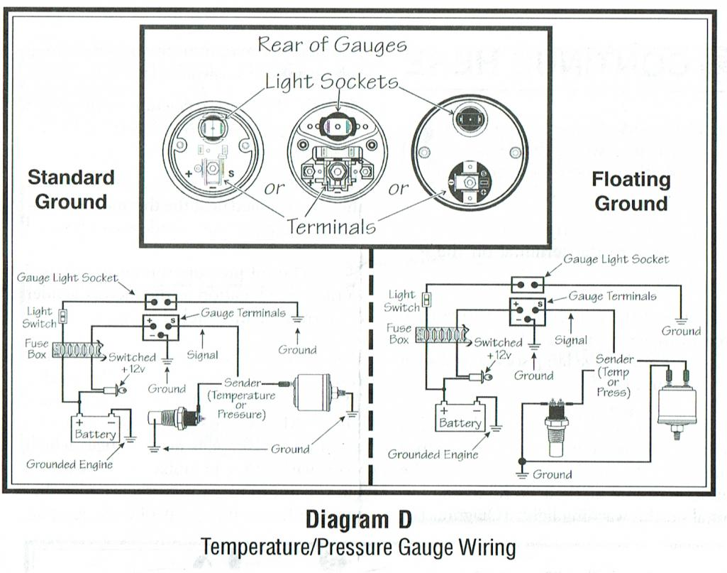 vdo marine gauges wiring diagrams rheem gas furnace diagram oil pressure gauge cistern pump system