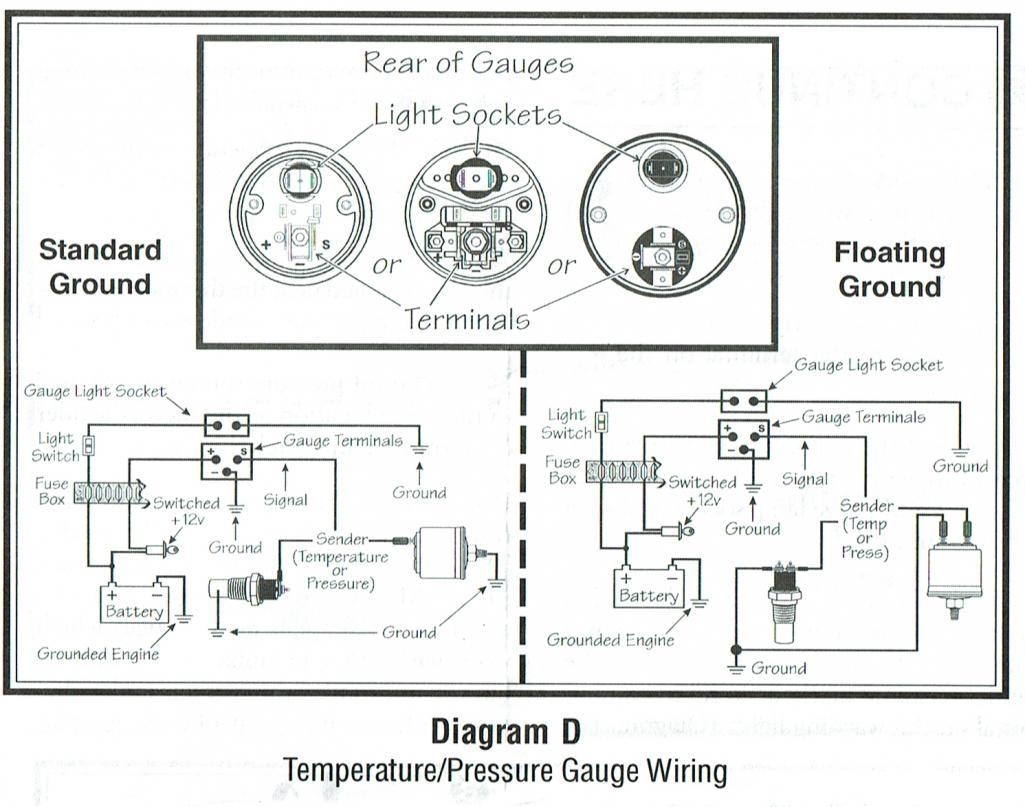 vdo oil pressure gauge wiring diagram 5 3 ls coil pack cistern pump system