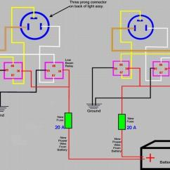 Simple Headlight Wiring Diagram House Wire 4 Blog 914world Com H4 Relay Question Motorhome Harness Replacement Manual Instruction
