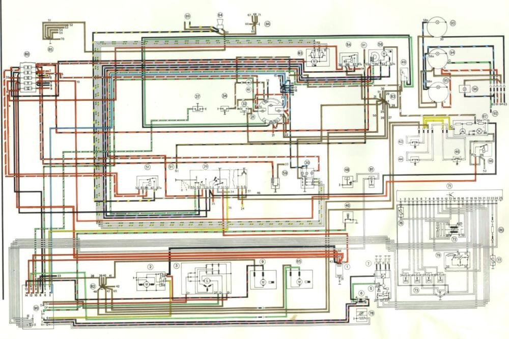medium resolution of 1975 porsche 911 wiring diagram schematic wiring diagrams rh 46 koch foerderbandtrommeln de porsche 911 turbo