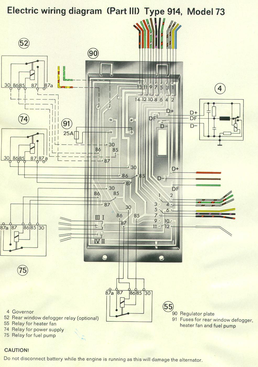 porsche 914 wiring diagram 2000 chevy 1500 radio 914world.com - the largest online community!