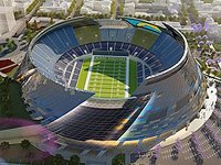 Chargers Stadium combined with Convention Space in the ...