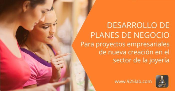 925lab - Desarrollo Planes de Negocio sector joyería
