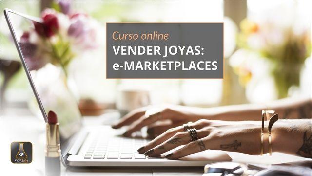 Curso online.- Venta de joyas: e-Marketplaces por 925lab