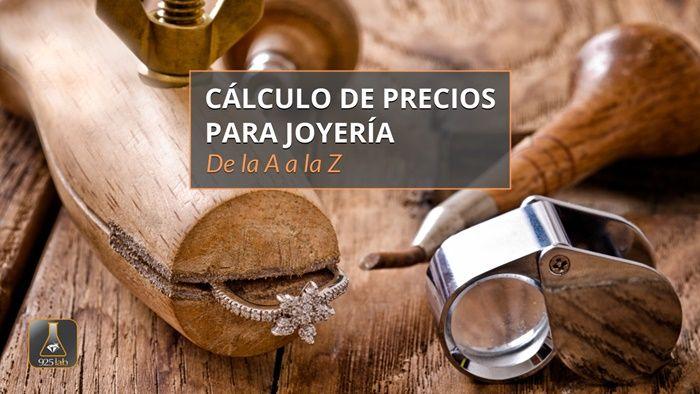 """Curso online: """"Cálculo de precios para joyería · De la A a la Z"""""""
