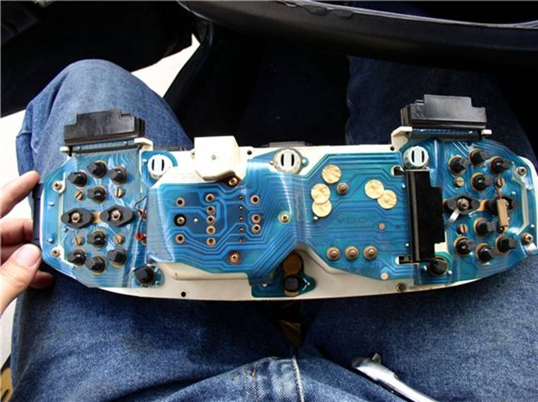 Here S The Wiring Schematic Instrument Panel Wiring This Isn