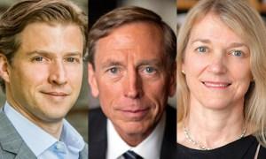 Ross, Petraeus, Bargmann