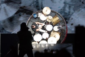 Duncan on the Rotating Drums