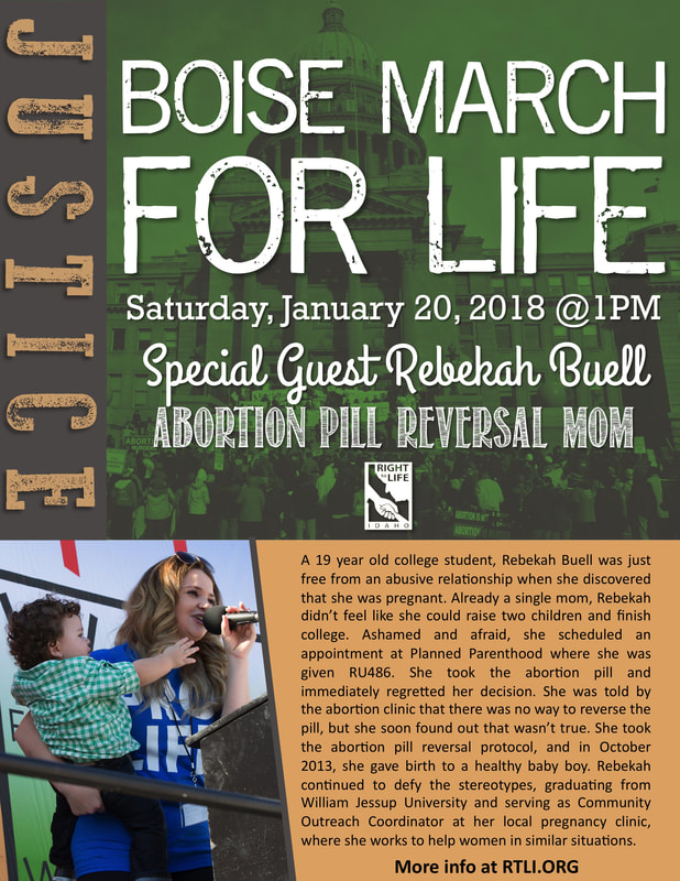 Boise March for Life January 20th 2018