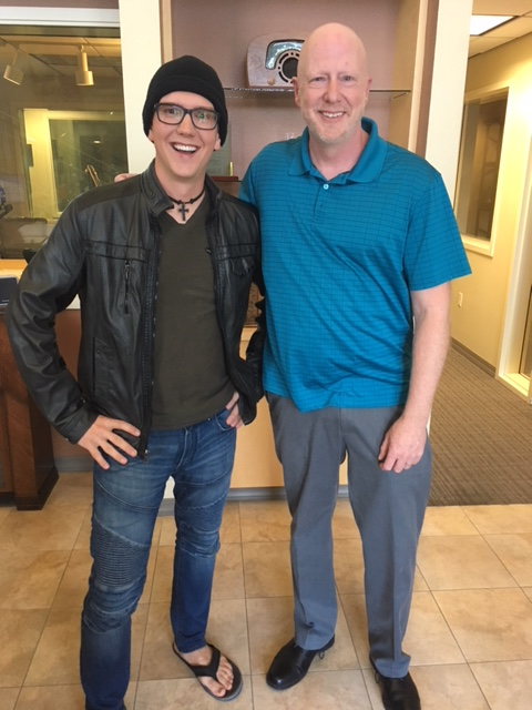 Doug with Jonny Bryan from Harvest Church
